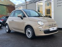 USED 2013 63 FIAT 500 1.2 LOUNGE 3d 69 BHP IDEAL FIRST CAR + PANORAMIC ROOF