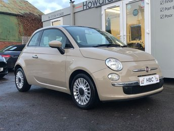 2013 FIAT 500 1.2 LOUNGE 3d 69 BHP £3995.00
