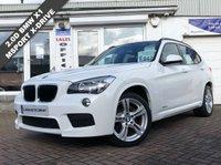 USED 2012 62 BMW X1 2.0 XDRIVE18D M SPORT 5d 141 BHP 12 MONTHS MOT - FULL BMW SERVICE HISTORY - 2 KEYS