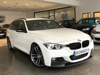 USED 2018 18 BMW 3 SERIES 2.0 320D M SPORT TOURING 5d AUTO 188 BHP BM PERFORMANCE STYLING+PRO NAV