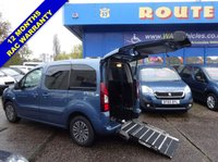 2014 PEUGEOT PARTNER 1.6 TEPEE S 5d 120 BHP WHEELCHAIR ACCESSIBLE SOLD