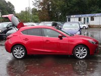 USED 2014 64 MAZDA 3 2.2 D SPORT NAV 5d 148 BHP LOW MILEAGE*HIGH SPEC*£20 RD TAX*EX MPG