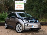 USED 2015 65 BMW I3 0.6 I3 RANGE EXTENDER 5dr AUTO £0 Tax, Sat Nav, Heated Seats