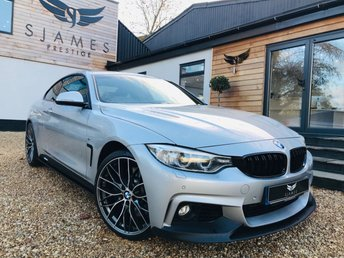 2015 BMW 4 SERIES 3.0 430D XDRIVE M SPORT 2d 255 BHP £18990.00