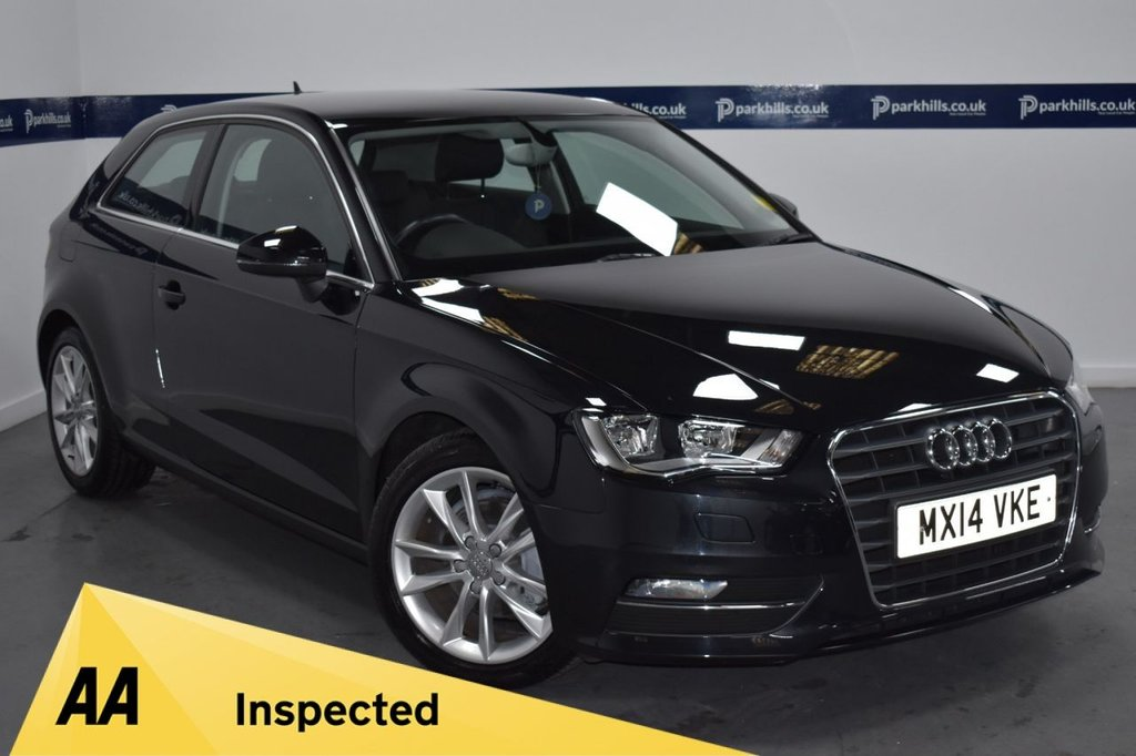 USED 2014 14 AUDI A3 1.4 TFSI SPORT 3d AUTO 120 BHP (ONLY 9,000 MILES)