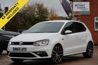 USED 2016 66 VOLKSWAGEN POLO 1.8 GTI 5d 189 BHP FULL SERVICE HISTORY + FINANCE AVAILABLE