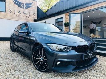 2016 BMW 4 SERIES 3.0 430D XDRIVE M SPORT GRAN COUPE 4d 255 BHP £21490.00