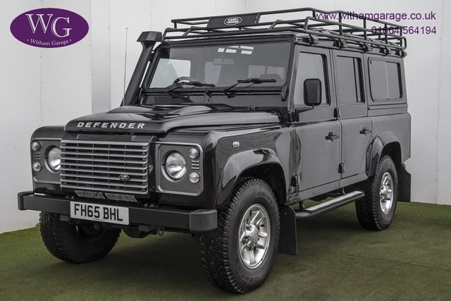 USED 2015 65 LAND ROVER DEFENDER 110 2.2 TD XS STATION WAGON 5d 122 BHP