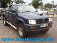 2001 MITSUBISHI L200 2.5 2.5TD 4WD 98 BHP * 92000 MILES, LOVES THE WORK * £1200.00