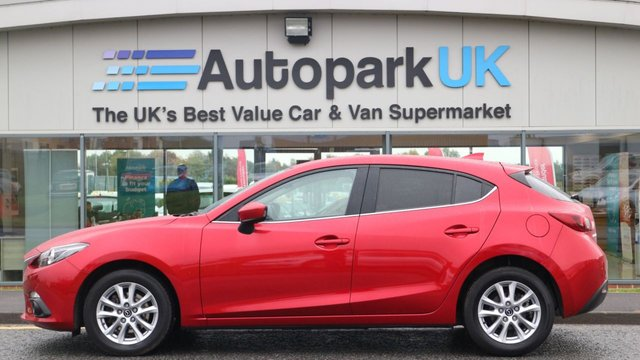 USED 2016 16 MAZDA 3 1.5 D SE-L NAV 5d 104 BHP LOW DEPOSIT OR NO DEPOSIT FINANCE AVAILABLE