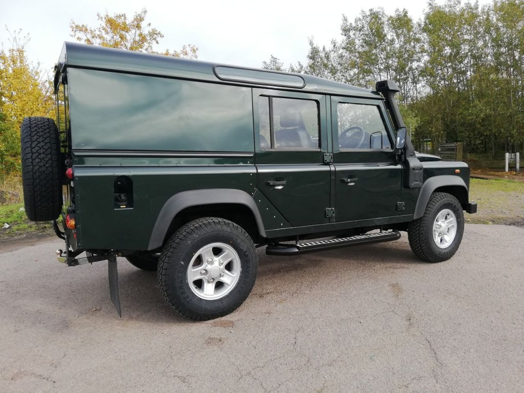 USED 2010 60 LAND ROVER DEFENDER 2.4 110 TD UTILITY WAGON 121 BHP
