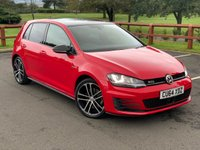 USED 2014 64 VOLKSWAGEN GOLF 2.0 GTD DSG 5d AUTO 182 BHP FULL SERVICE HISTORY, SAT NAV, PARK PILOT, PANORAMIC ROOF, CLIMATE CONTROL,