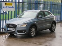 USED 2012 12 AUDI Q3 2.0 TFSI QUATTRO SE 5dr Full leather Park sensors Heated seats Alloys Leather,Alloys,Heated seats