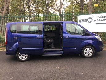 FORD TOURNEO CUSTOM at Van Ninja