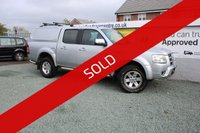 USED 2007 57 FORD RANGER 2.5 THUNDER 4X4 D/C 2d 141 BHP SILVER
