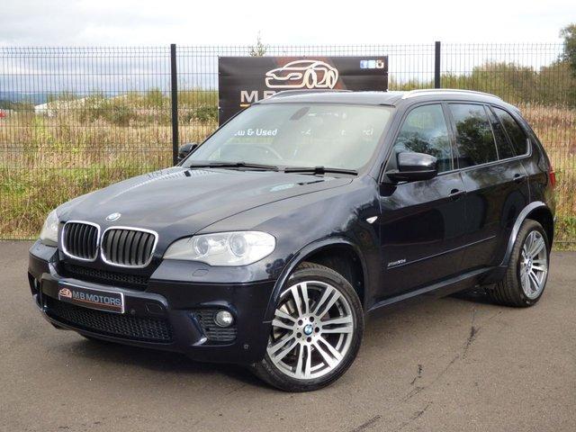 2012 BMW X5 M SPORT XDRIVE 30D 5d AUTO 241 BHP