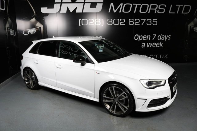 2013 AUDI A3 LATE 2016 AUDI A3 2.0 TDI S LINE BLACK EDITION STYLE 5d 150 BHP AUTO (FINANCE AND WARRANTY)