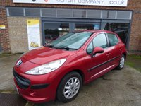 USED 2008 08 PEUGEOT 207 1.6 S HDI 5d 89 BHP FULL SERVICE HISTORY & ONLY £30 A YEAR TO TAX