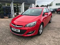 USED 2014 14 VAUXHALL ASTRA 1.6 SRI CDTI ECOFLEX S/S 5d 108 BHP ZERO £££ ROAD TAX-1 OWNER-FULL MAIN DEALER SERVICE HISTORY
