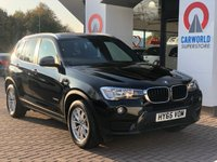 USED 2015 65 BMW X3 2.0 XDRIVE20D SE 5d AUTO 188 BHP 6475.00 BMW OPTIONAL EXTRAS