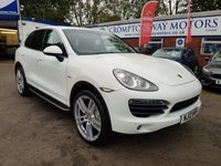 USED 2013 13 PORSCHE CAYENNE 4.1 D V8 S TIPTRONIC S 5d 382 BHP 0%  FINANCE AVAILABLE ON THIS CAR PLEASE CALL 01204 393 181