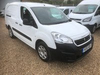 USED 2016 16 PEUGEOT PARTNER 1.6 HDI CRC 92 BHP CREW VAN CREW VAN 5 SEATS * ONE OWNER FROM NEW