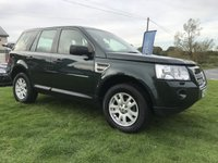 USED 2010 10 LAND ROVER FREELANDER 2.2 TD4 E XS FLRSH 80000 MILES 2 OWNERS