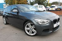 USED 2013 13 BMW 1 SERIES 1.6 118I M SPORT 5d 168 BHP SERVICE HISTORY - LOW MILES - GREAT SPECIFICATION