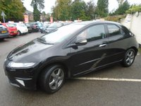 USED 2010 10 HONDA CIVIC 1.3 I-VTEC SI 5d 98 BHP GUARANTEED TO BEAT ANY 'WE BUY ANY CAR' VALUATION ON YOUR PART EXCHANGE