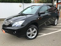 USED 2009 09 LEXUS RX 3.3 400H LIMITED EDITION EXECUTIVE 5d AUTO 208 BHP