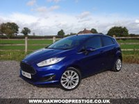 USED 2015 15 FORD FIESTA 1.0 TITANIUM X 5d 124 BHP ONLY 2 OWNERS FROM NEW WITH FULL FORD SERVICE HISTORY