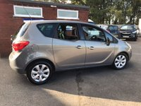 USED 2010 60 VAUXHALL MERIVA 1.7 SE CDTI 5d AUTO 99 BHP AUTOMATIC AUTO, ONLY 50K MILES, 2 OWNERS