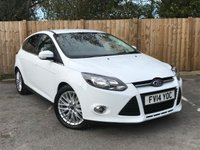 USED 2014 14 FORD FOCUS 1.6 ZETEC TDCI 5d 113 BHP Service History, £20 a Year Road TAX