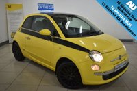 USED 2008 08 FIAT 500 1.4 LOUNGE 3d 99 BHP