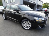 USED 2013 13 AUDI A1 1.4 SPORTBACK TFSI SPORT 5d 122 BHP *FSH*REAR PARKING SENSORS WITH CRUISE CONTRO,HTD SEATS