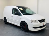 USED 2010 60 VOLKSWAGEN CADDY 1.9 C20 TDI SWB 103 BHP LOW MILES + GTI UPGRADES + LOWERED + SERVICE HISTORY + VERY CLEAN