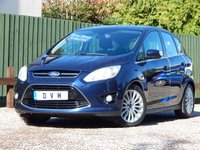 USED 2012 12 FORD C-MAX 2.0 TITANIUM TDCI 5d AUTO 138 BHP 7 SEATS, LOW MILEAGE, SERVICE HISTORY, FINANCE AVAILABLE