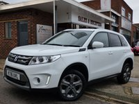 USED 2016 16 SUZUKI VITARA 1.6 SZ-T DDIS 5d 118 BHP ONE OWNER SUZUKI SERVICE HISTORY & ONLY £20 A YEAR TO TAX