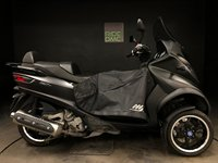 USED 2014 14 PIAGGIO MP3 500 IE SPORT. 14. FSH. 1 OWNER. 7777 MILES. WEATHER SKIRT