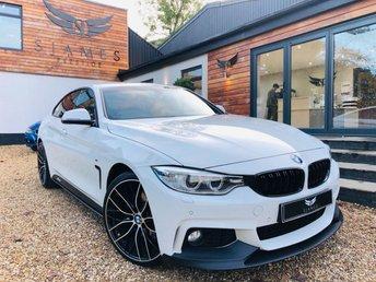 2016 BMW 4 SERIES 2.0 420D XDRIVE M SPORT GRAN COUPE 4d 188 BHP £18990.00