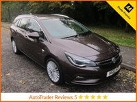 USED 2016 16 VAUXHALL ASTRA 1.6 ELITE NAV CDTI 5d AUTO 134 BHP Fantastic One Owner Automatic Vauxhall Astra  Sports Tourer Elite with Full Leather, Satellite Navigation, Climate Control, Cruise Control, Alloy Wheels and Vauxhall Service History. This Vehicle is ULEZ Compliant with a EURO 6 Rated Engine.