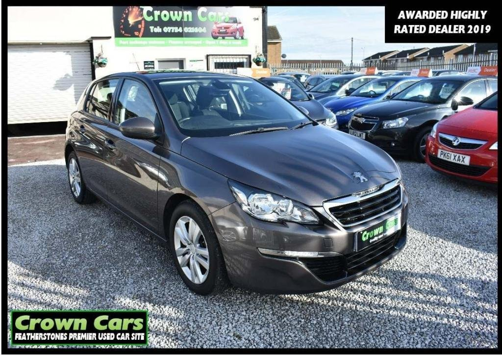 USED 2014 14 PEUGEOT 308 1.6 e-HDi Active (s/s) 5dr 3 MONTH WARRANTY & PDI CHECKS