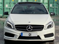 USED 2014 14 MERCEDES-BENZ A CLASS 2.1 A200 CDI AMG Sport 7G-DCT 5dr PanRoof/ReverseCam/ParkAssist