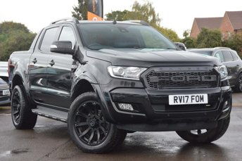 2017 FORD RANGER 3.2 TDCi Wildtrak Double Cab Pickup Auto 4WD 4dr £22990.00