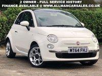 2015 FIAT 500 1.2 LOUNGE 3d 69 BHP £4895.00