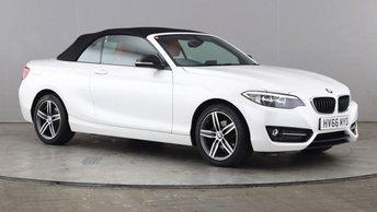 2016 BMW 2 SERIES 1.5 218I SPORT 2d 134 BHP £12990.00