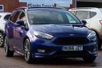 USED 2016 66 FORD FOCUS 1.5 ST-LINE TDCI 5d 118 BHP FULL FORD SERVICE HISTORY, SATELLITE NAVIGATION