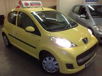 USED 2010 60 PEUGEOT 107 1.0 URBAN 5d AUTOMATIC Automatic......£20 Road Tax