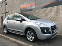 2012 PEUGEOT 3008 1.6 EXCLUSIVE HDI 5d 112 BHP £4495.00