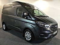 USED 2018 68 FORD TRANSIT CUSTOM 2.0 300 LIMITED P/V L1 H2 129 BHP HIGH ROOF LOW MILES HIGH ROOF, LOW MILES, HIGH SPEC,